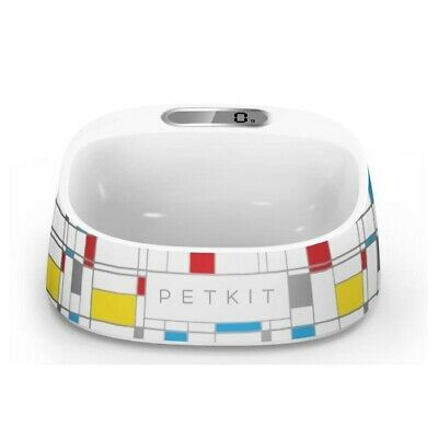 Petkit Smart Digital Pet Antibacterial Bowl with Scale - Mondrian Art Print