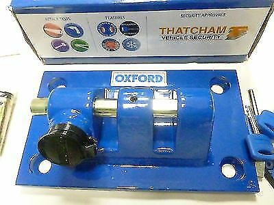Oxford Thatcham Approved Docking Station Motorbike Ground/wall Anchor New