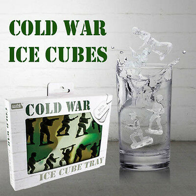Ice Cube Tray soldier commando combat shapes Cold War