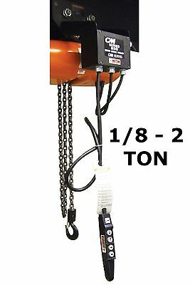 Cmco - Series 635 Motor Driven Trolley - 1/8 Ton - 2 Ton Capacity, 75 Fpm