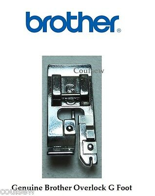 Genuine Brother G OVERLOCK OVERCAST OVEREDGE FOOT CLIP ON - XC3098051