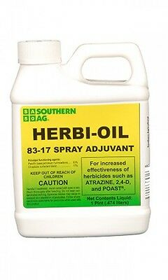 Southern Ag Herbi Oil 83-17 Spray Adjuvant Surfactant 16 oz. 1 Pint