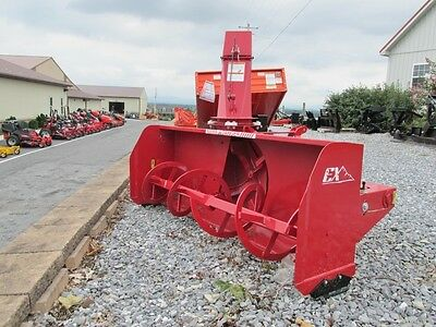 """New Normand Heavy Duty, 72"""" Snow Blower, Pto Dr, Hydraulic Spout Rotator, 3 Pt"""