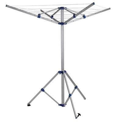 Royal Rotary 4 Arm Washing Line, Portable Foldable Airer Ideal Camping, Caravan