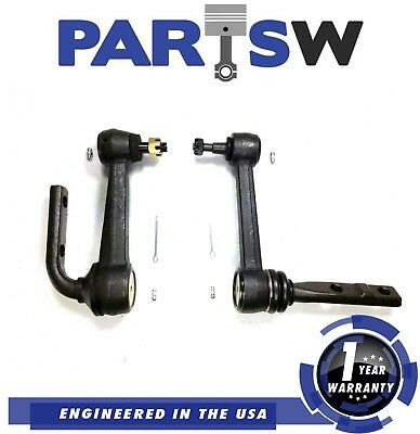 2 Left And Right Steering Idler Arm Replacement Astro-Safari Rwd 90-05 1 Yr Wrty