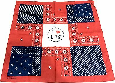Japan Import NEW LEE Japan Cotton Handkerchief 50 cm x 50 cm