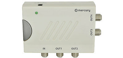 4-Way TV Distribution Amplifier  television amp digital DAB 130.035