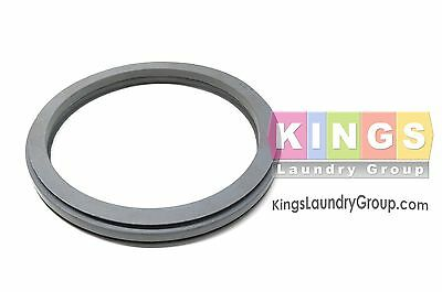 Gray Door Gasket for 27 / 35LB. UNIMAC, HUEBSCH, Speed Q WASHERS - F170123
