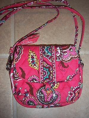 Perfect Condition Vera Bradley  Call Me Coral Little Hip Bag