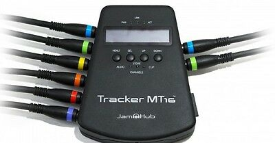 New Jamhub Tracker MT16 Multitrack Audio Recorder USB SD-Memory Storage 24-BIT