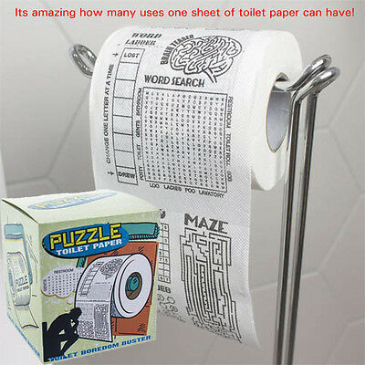 Puzzle Toilet Paper word puzzle word maze word ladder and other puzzles