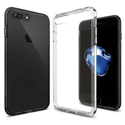 Spigen® For Apple iPhone 7 Plus [Ultra Hybrid] TPU Case Bumper Shockproof Cover