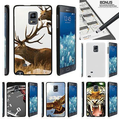 For Samsung Galaxy Note Edge N915 Case Hard Snap On 2 Piece Slim Shell Animals