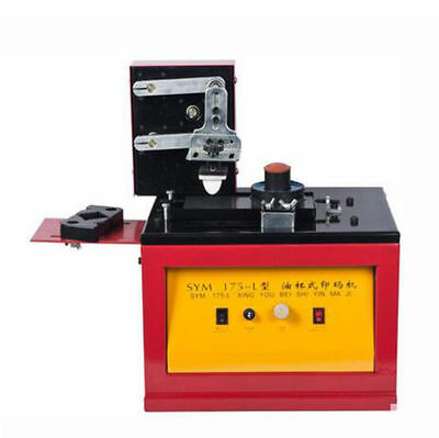 Enhanced electric ink coding machine oil cup production date pad printer 220V