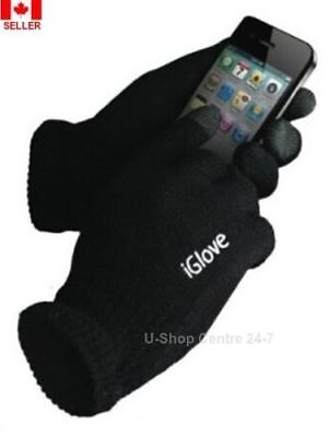 iGlove Unisex Touch Screen Knit Glove Screen TouchWinter Gloves 1 or 2 Pair