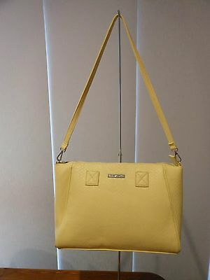 Yellow /  Lemon Ladies Lunch Cooler Handbag Wine Lunch bag Insulated Tote
