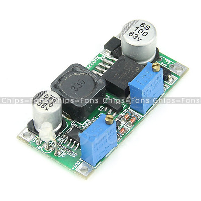 1PCS 60V Input DC-DC Step Down Converter Adjustable Power Module LM2596HVS CF