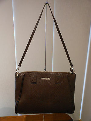 Brown Snake Skin Ladies Cooler Handbag Wine Lunch bag Insulated Tote