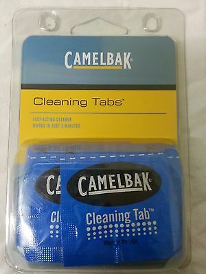 CamelBak 8x Cleaning Tablets Tabs for Hydration Backpack Water Reservoir CB60061