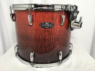 "Pearl Vision VBA 16"" Mounted Tom/Ruby Fade Eucalyptus/#486/Brand New"
