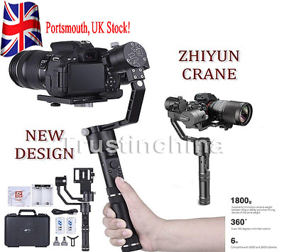 Zhiyun Crane 3-Axis Handheld Stabilizer Gimbal 360° for Mirrorless DSLR Camera