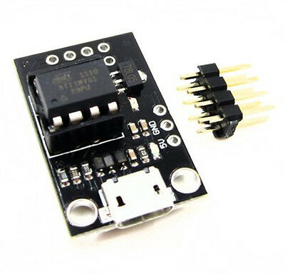 Development Programmer Board Micro USB for ATtiny  + DIP-8 Tiny85-20PU CHIP IC