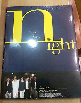 Rare Shinee The First Photobook Part 2 SHINEE NIGHT :Photobook160p+DVD+FreePhoto