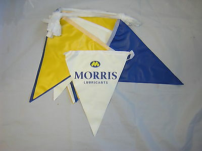 Morris Lubricants Bunting. Ideal For Shows/Race Meetings.New