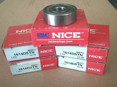 Lot Of 5 New In The Box Nice Bearings 1614 Dstn (Zz)