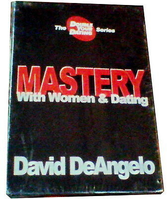 USED - David DeAngelo MASTERY with Women & Dating DVD Box Set - Volumes 6-10