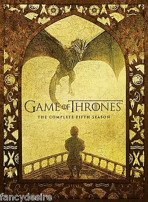 Game Of Thrones Season 5 Complete Dvd Box Set Brand New.