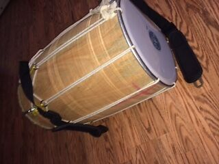Indian Dhol Drum from India size Large