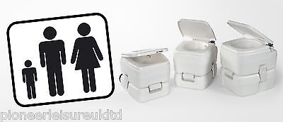 Fiamma Bi Pot 39 Portable Caravan And Camping Toilet, Sanitary 01355-01-,