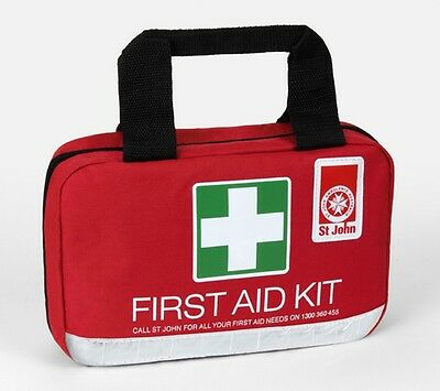 NEW 2017 St John Ambulance Small First Aid Kit - Home, Workplace, Camping, 4WD