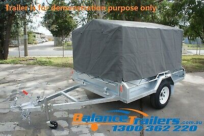 7X5 BOX TRAILER CAGE CANVAS COVER TARP 600mm 2 FOOT