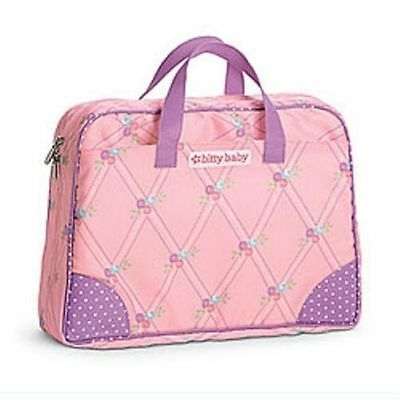 American Girl Bitty's Diaper Bag it's a Changing Pad Too This is the New Version
