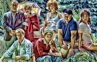 Gilligan's Island Cast Just Sit Right Back 11x17 Poster Buy One Get One