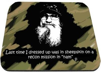 Uncle Si Recon Mission In Nam Mouse Pad