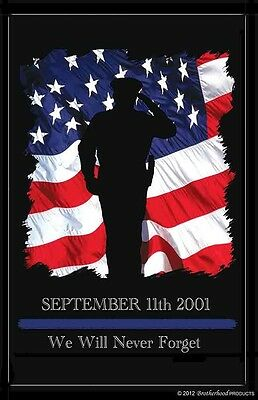 September 11 2001 Law Enforcement Rememberance Two 11x17 Posters