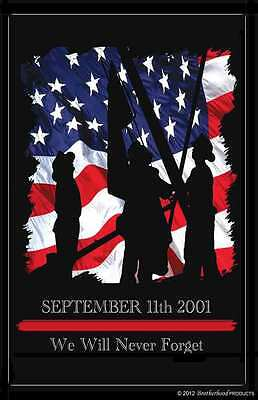 September 11 2001 Firefighter Rememberance Two 11x17 Posters