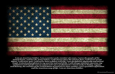 United States Military American Soldier Oath Two 11x17 Posters