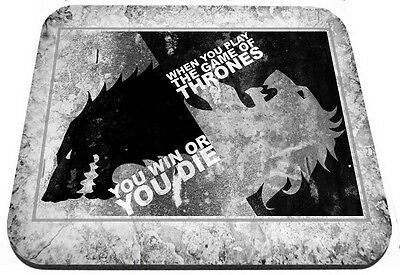 Game of Thrones You Win Or Die Mouse Pad