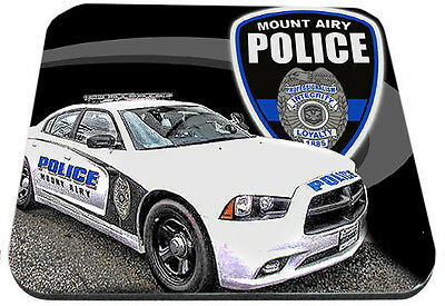 Mt. Airy Police Department Dodge Charger Mouse Pad