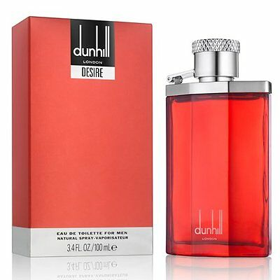 DUNHILL DESIRE RED 100ML EDT eau de toilette spray New Boxed