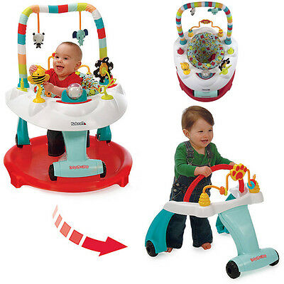 ceb7f64b4 BABY WALKER ACTIVITY Play Center Trainer Toy Bounce Seat Learning ...