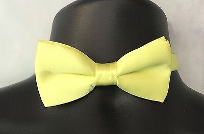 NWT Childrens Boys Lime Green EASTER Adjustable Wedding Bow Tie