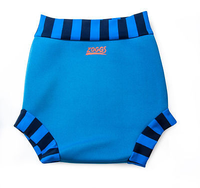 Zoggs Swimsure Swim Nappy Blue/Pink  0-24 months