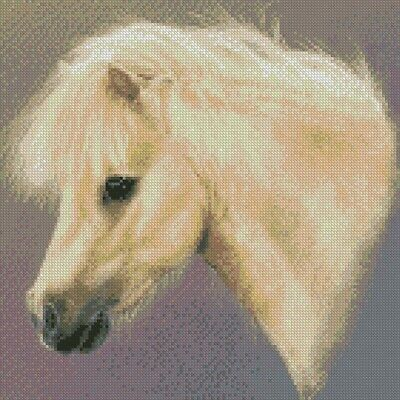 Cross Stitch Chart - Kit Shetland Pony
