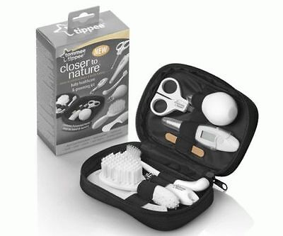 TOMMEE TIPPEE 9pce CLOSER TO NATURE BABY NURSERY HEALTHCARE/GROOMING TRAVEL KIT