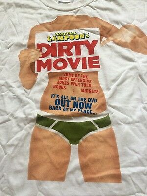 National Lampoons DIRTY MOVIE t-shirt size L New Merchandise Memorabilia